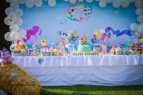 little decorations kara s party ideas my little pony birthday party kara s