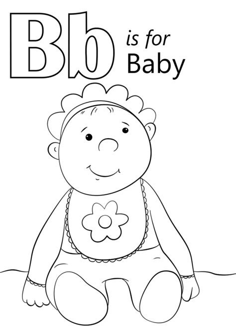 coloring for babies and baby coloring pages