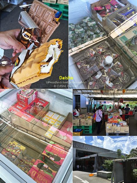 new year goodies factory outlet cuisine paradise singapore food recipes reviews
