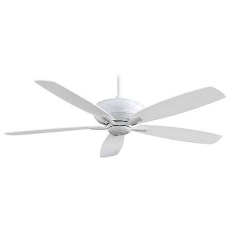 60 white ceiling fan kola xl 60 inch ceiling fan by minka aire ceiling fans