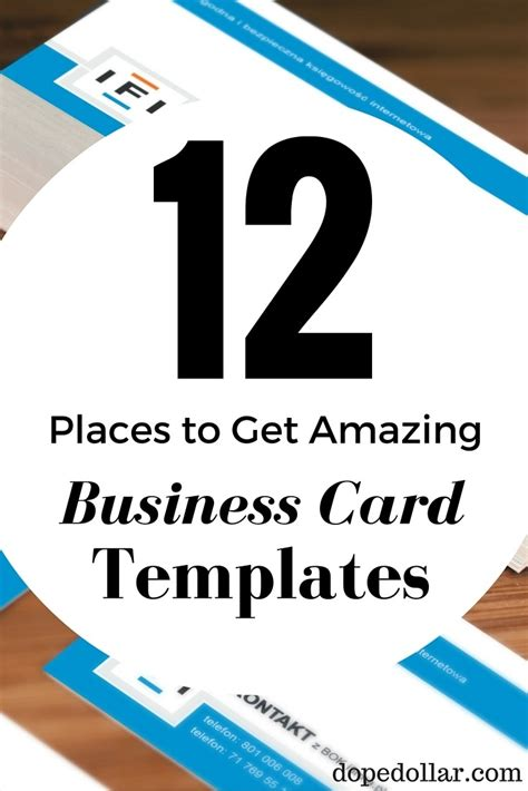 best business card templates free huge selection