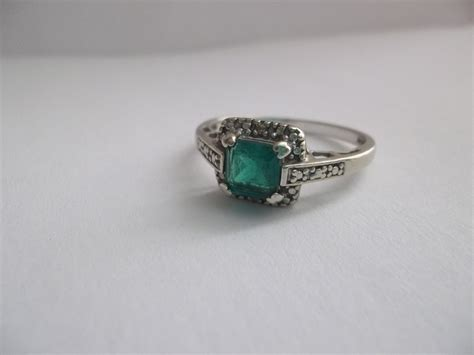 vintage emerald engagement rings wedding promise