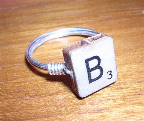 scrabble ring take a scrabble ring