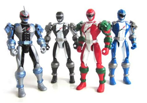 Robotan Power Rangers Setpowers Rangers Isi 5 robot power ranger operation overdrive rainbow