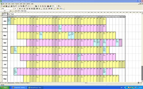 yearly planning calendar template 2014 annual calendar planner excel spreadsheet template