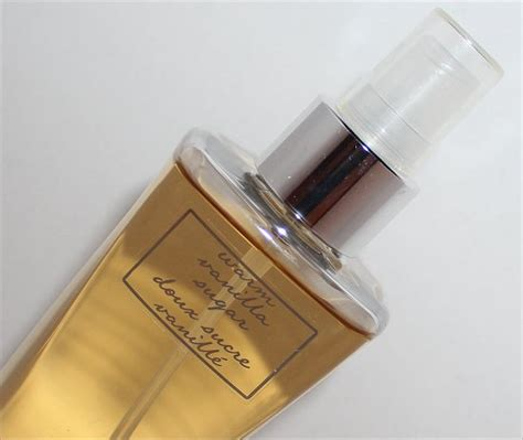 Parfum Warm Vanilla Sugar bath works warm vanilla sugar fragrance mist review