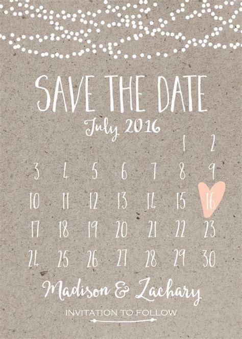 the date calendar card for bridesmaid box free template die besten 17 ideen zu save the date karten auf