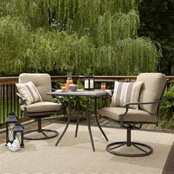 Bistro Sets Outdoor Patio Furniture Garden Oasis Brookston 3 Bistro Set Outdoor Living Patio Furniture Small