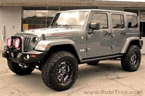 Custom Jeep Dealer Custom 10th Anniversary Rubicon Unlimited Www Rubitrux