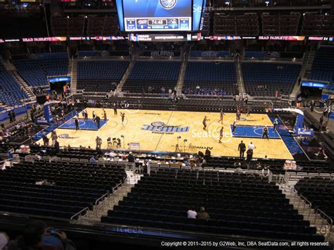section club amway center club box c seat views seatgeek