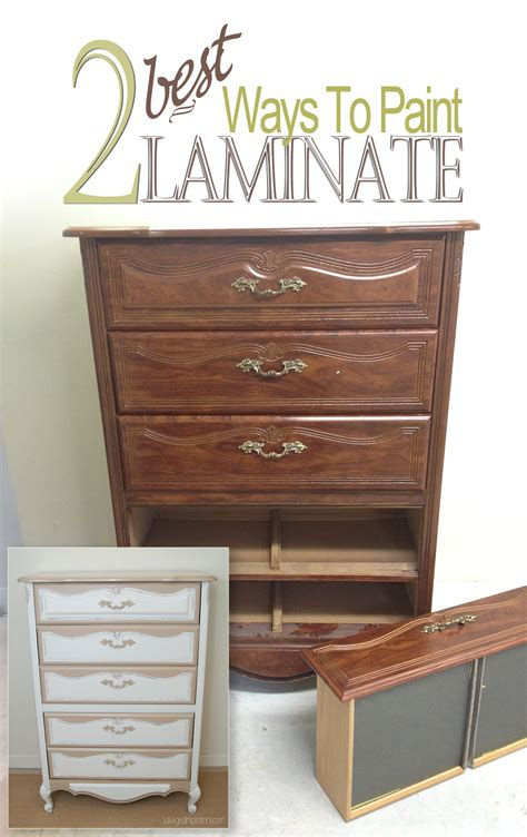 how to paint a 2 best ways to paint laminate furniture salvaged