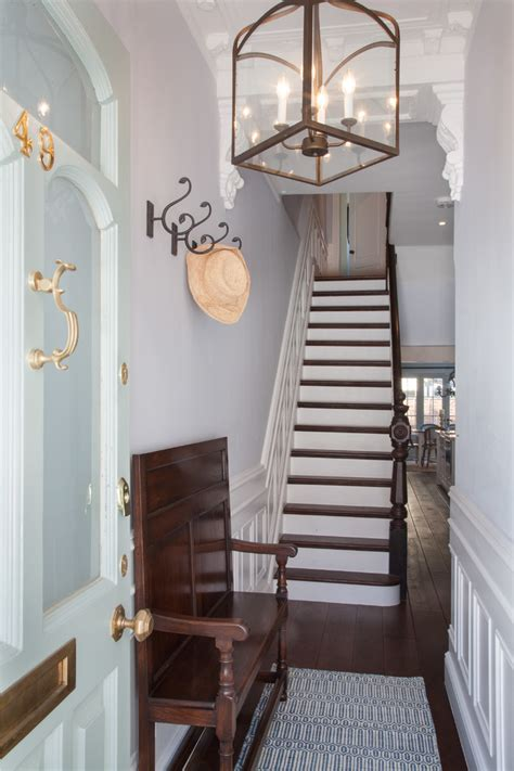 turquoise hallway country entrance foyer peter 5 ways to decorate a narrow hallway shoproomideas