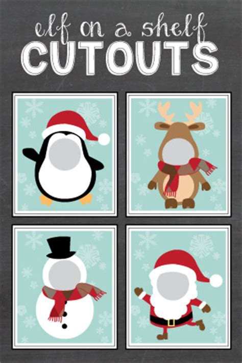 photoshop card templates place faces into santa craftionary
