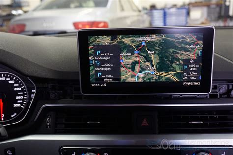 Audi A4 Mmi Navigation Plus by Audi Mmi Navigation Plus Original Efterinstallera Montera