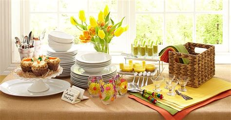 brunch setup set up an easter brunch buffet decorating ideas books