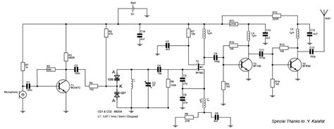 fm transmitter receiver circuit diagram 88 108 mhz fm transmitter circuit