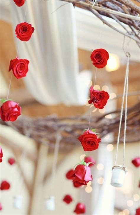 Valentine's day wedding decoration in 2014, Red wedding