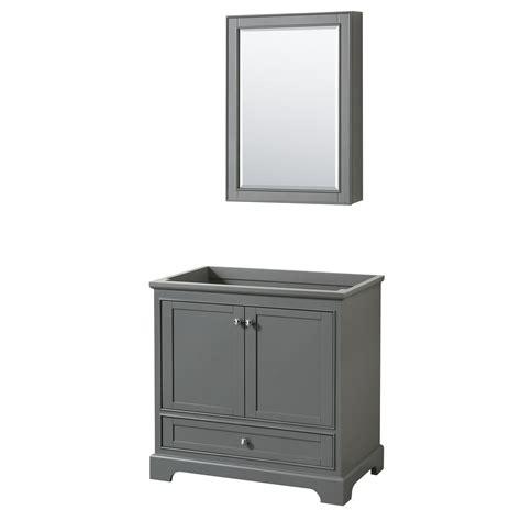 wyndham collection medicine cabinet wyndham collection deborah 35 25 in w x 22 in d vanity
