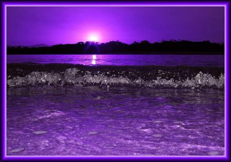 purple sunset bubbles    sitting  making