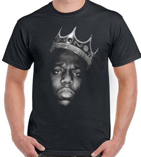 shirt big the notorious b i g biggie smalls mens t shirt big hip hop ebay