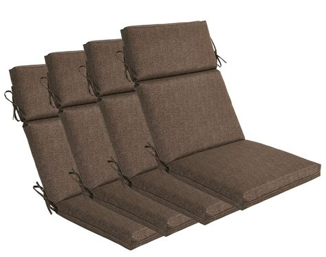 high back patio cushions home furniture design