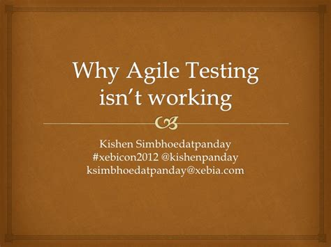 dramafire isn t working why agile testing isn t working