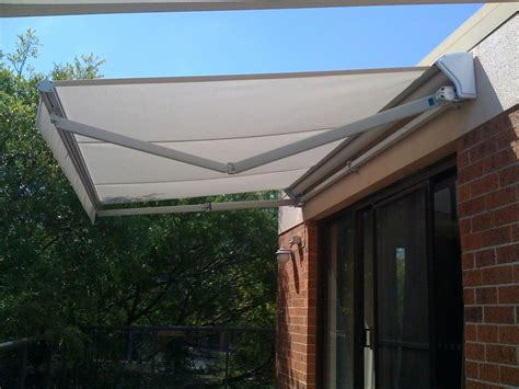 Sliding Awning by Folding Arm Awnings Blind Elegance Outdoor Blinds