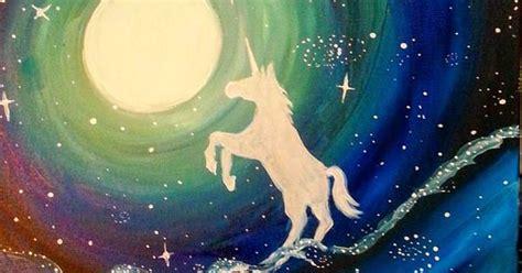 paint nite unicorn paint nite unicorn sky paint nite