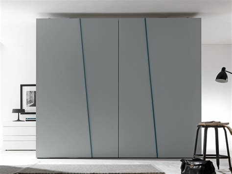 Sliding Wardrobe Door Mechanism by Sectional Lacquered Wardrobe With Sliding Doors Diagonal