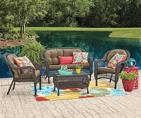 patio furniture big lots i found a wilson fisher hstead patio furniture collection at big lots for less find more