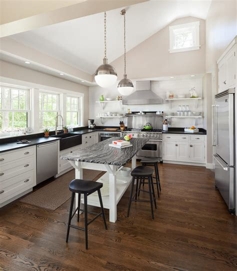 Cape Porpoise Kitchen by Cape Porpoise Residence Transitional Kitchen