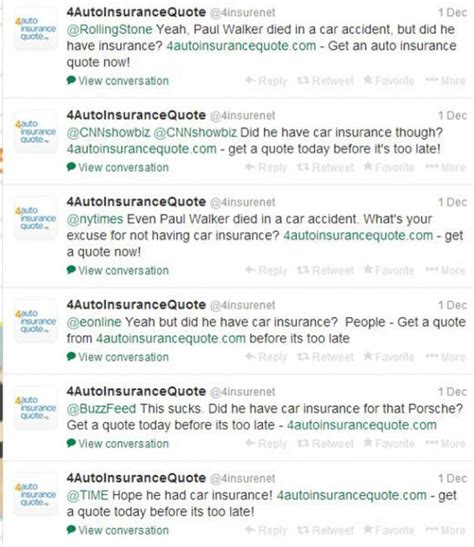 Car Insurance Companies Quotes by Porsche Celebrated Crashes Paul Walker S Crash