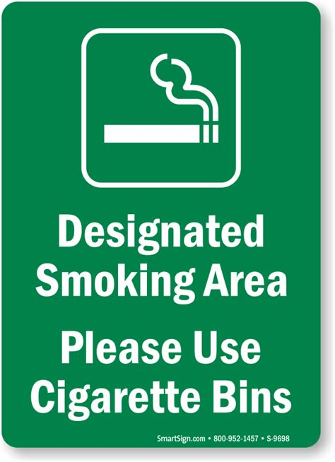 no smoking signage malaysia cigarette butt signs cigarette butt disposal signs