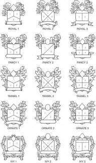 Family Crest Template by Family Crest Factory Design Form