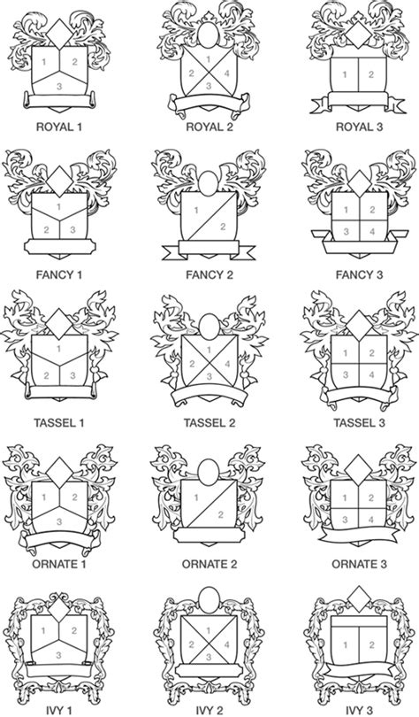 Family Crest Factory Online Design Form Crest Design Template