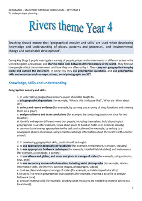 ks2 geography scheme of work search uk teaching resources tes