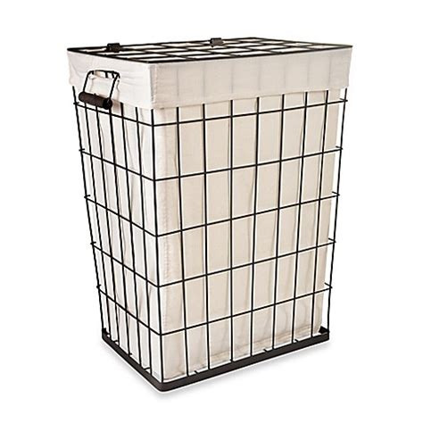 Kitchen Storage Idea Lamont Home Loren Metal Hamper Bed Bath Amp Beyond