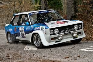 Fiat Abarth Rally Fiat 131 Mirafiori Abarth 3 Rally Historic Valsugana 19