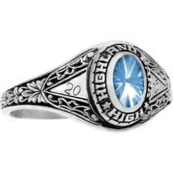 highschool class rings fantasia white gold aquamarine high school s class ring at http www