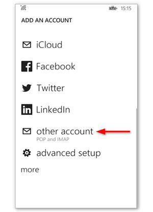 Configuration de la messagerie Windows Phone – Aide   One.com