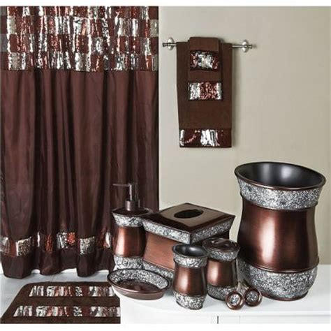 Bronze Shower Curtain by Chocolate Swag Shower Curtain
