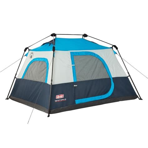Coleman Instant 8 Cabin Tent by Coleman 4 Person 8 X 7 Instant Cabin Tent Blue