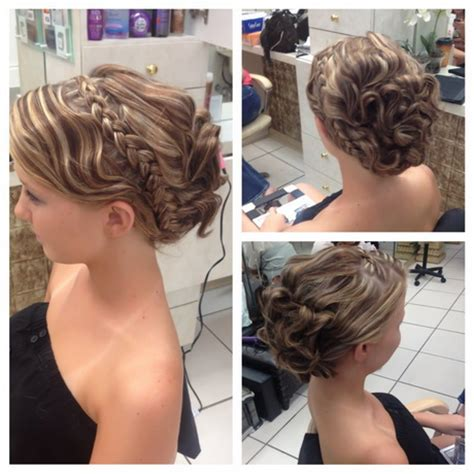 updos for medium hair easy instruction cute prom hairstyles for medium hair