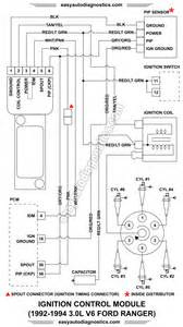 part 1 1992 1994 3 0l ford ranger ignition module wiring diagram