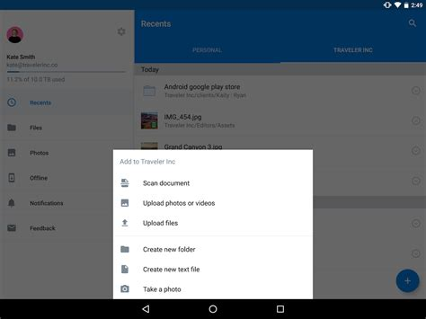 dropbox 70 2 4 apk android productivity apps