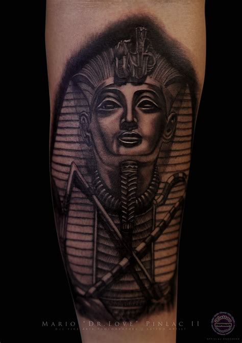 pharoah tattoo realistic black grey pharaoh the doctor s