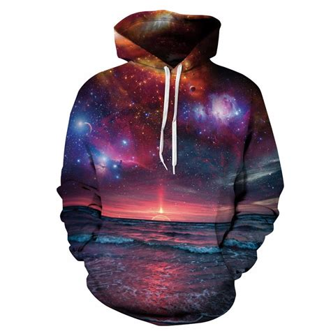 Hoodie Bape Galaxy Mirror 11 unisex 3d space galaxy hoodies style