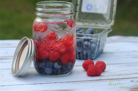 Blueberry Detox Drink by Blueberry And Raspberry Infused Water Desert Chica