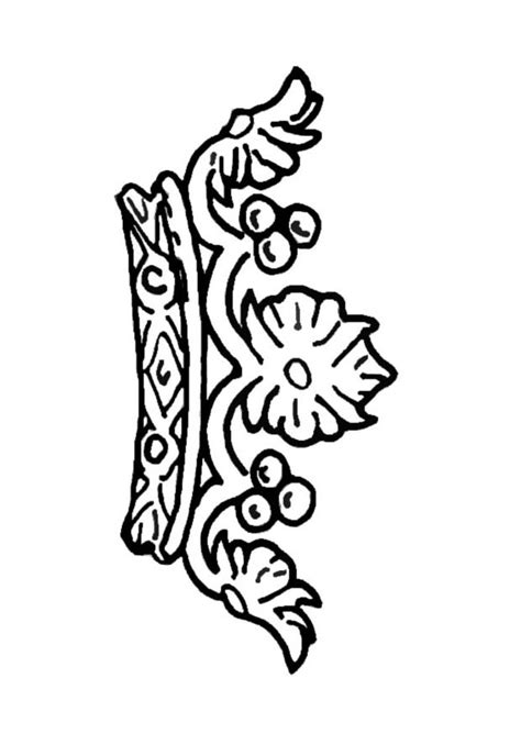 coloring page of a queen s crown queen crown coloring coloring coloring pages