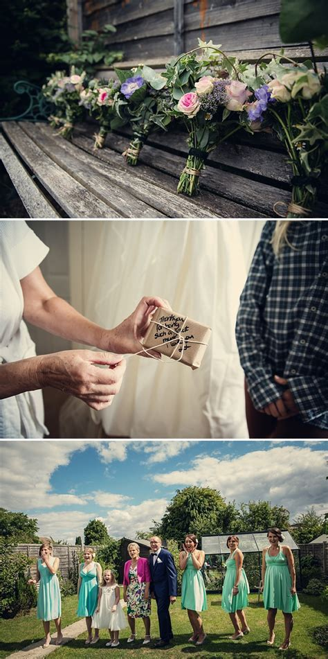A Rustic Farm Wedding In Berkshire With Bride In Kelly By